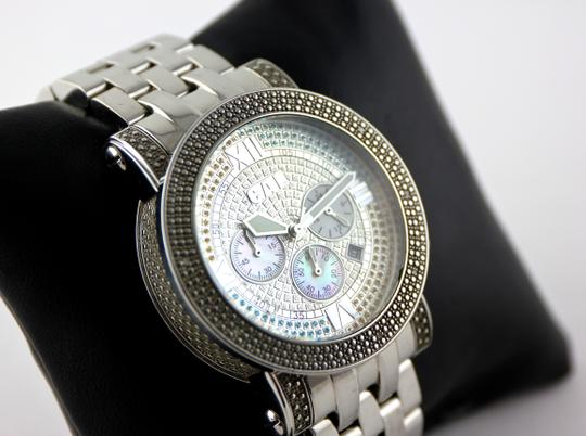 CA Links CA Links GTS Multicolor Rhinestone Accent Watch 44mm Image 4