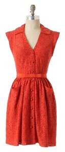 Tracy Reese short dress Orange Lace on Tradesy