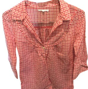 Madewell Button Down Shirt Plaid