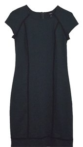 Mossimo Supply Co. Target Sheath Zipper Piped Fall Dress