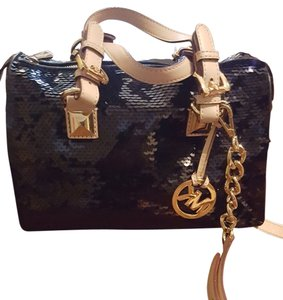 Michael Kors Mk Sequin Shoulder Bag