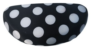 Other Polka dot satin clam shell hard sunglasses case. Very chic!