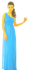 After Six One Chiffon Blue Dress