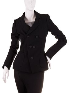 Balenciaga Women's Wool Black Blazer