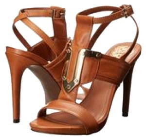 Vince Camuto Burnt Saddle Vachetta Pumps
