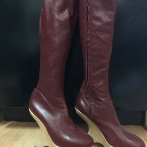 Sky Red Boots