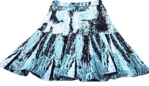 BCBGMAXAZRIA Areca Skirt Blue/Black