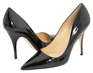 Kate Spade Patent Classic Pointed Toe Black Pumps