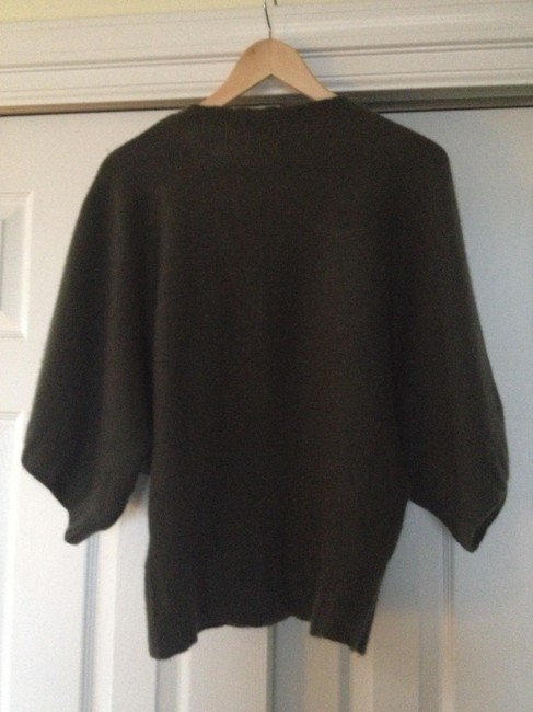 Twelfth St. by Cynthia Vincent Cashmere V-neck Kimono Sleeves Sweater