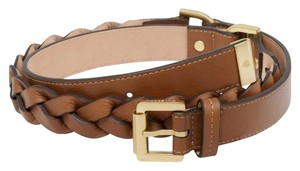 Mulberry New! Mulberry Soft Buffalo Braided Leather Belt