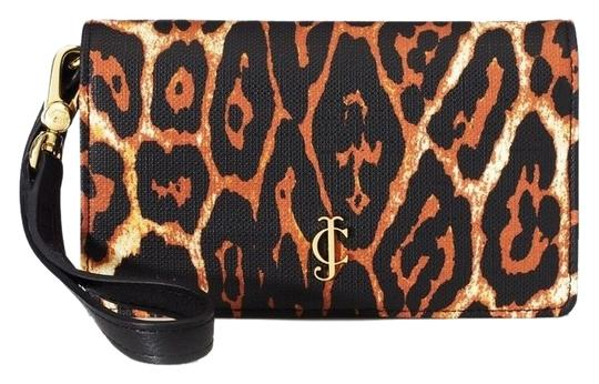 Juicy Couture JUICY COUTURE ANIMAL PRINT COLDWATER COATED TECH WALLET