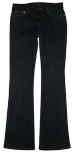 JOE'S Jeans 5 Pocket Style Zip Fly Cotton/spandex Honey Boot Cut Jeans-Dark Rinse