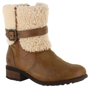 UGG Australia Chestnut Leather Boots