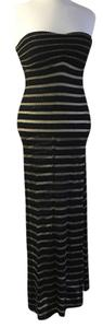 Black and gold. Maxi Dress by Vitamin A