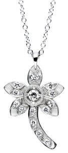 Tacori Tacori FP638 18K White Gold Diamond Flower Pendant