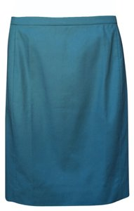 J.Crew Teal Pencil Skirt Blue