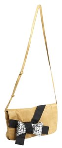 See by Chloé Chloe Bow Embellished Leather Cross Body Bag