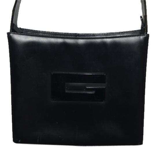 Preload https://item3.tradesy.com/images/gucci-purse-with-resin-g-new-black-leather-shoulder-bag-1508152-0-0.jpg?width=440&height=440