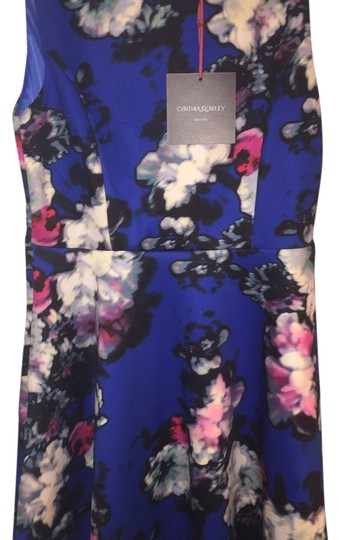 85%OFF Cynthia Rowley Blue Floral Dress - 20% Off Retail