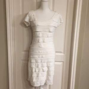 Max Studio short dress Ivory Cream on Tradesy