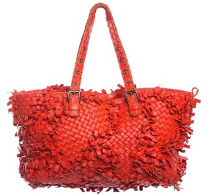 Bottega Veneta Tote in Dark Orange