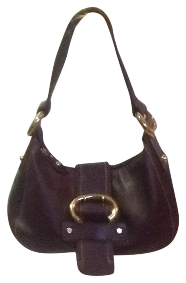 Francesco Biasia Purse Eggplant Leather Shoulder Bag - Tradesy 15d9f465625ca