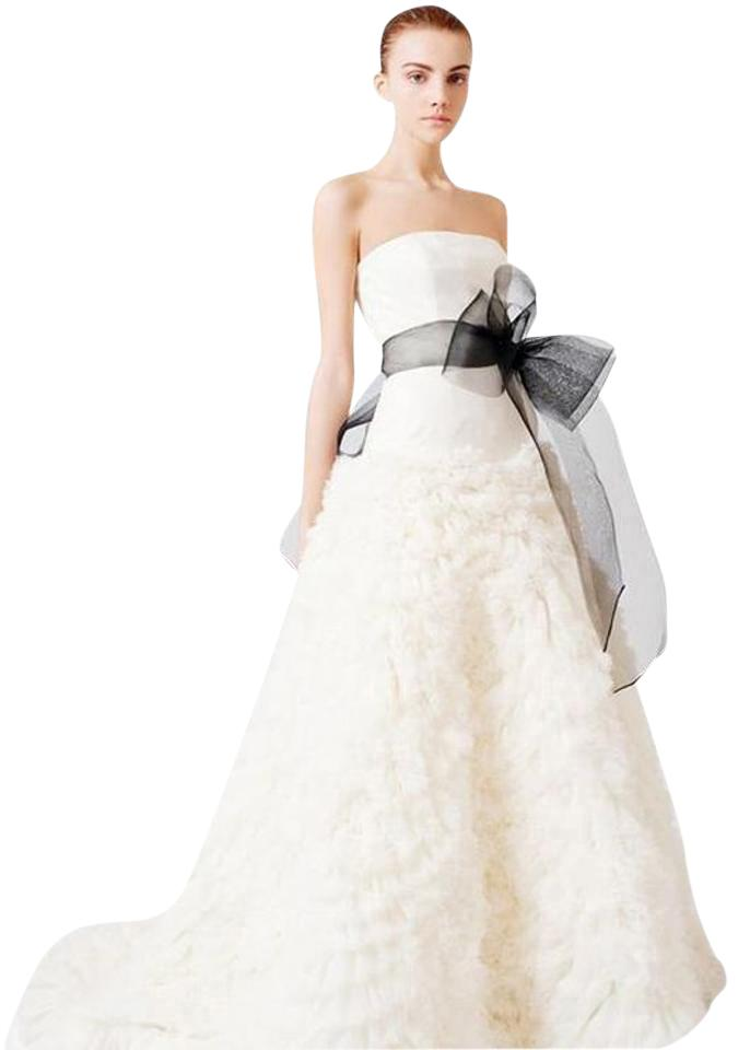 Vera Off White Ivory Organza Tulle Eleanor Gown From And The City