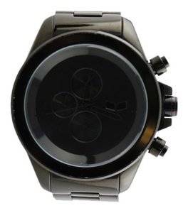 Vestal * Vestal ZR3 Men's Black Minimalist Chronograph Watch 50mm