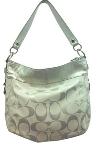 Coach White Shoulder Bag
