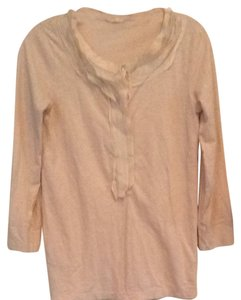 J.Crew T Shirt Light Blush Tan