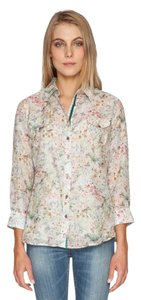 Johnny Was Trail Shirt Button Down Shirt Floral
