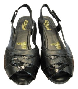 Beacon Reflections New Size 8.50 M Excellent Condition Black Sandals