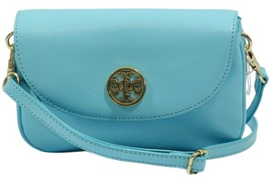 Tory Burch Robinson Clutch Cross Body Bag