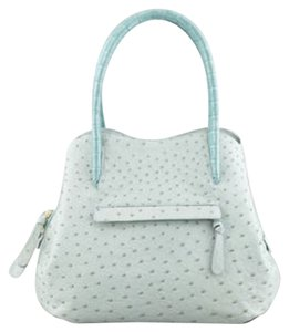 Nancy Gonzalez Tote in baby blue