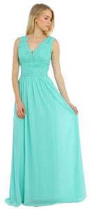 Mint Maxi Dress by Aquarius Brand