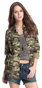 Elodie Nordstrom Camo Army Green Jacket