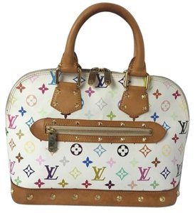Louis Vuitton Speedy Neverfull Crossbody Deauville Alma Multicolor Hobo Bag