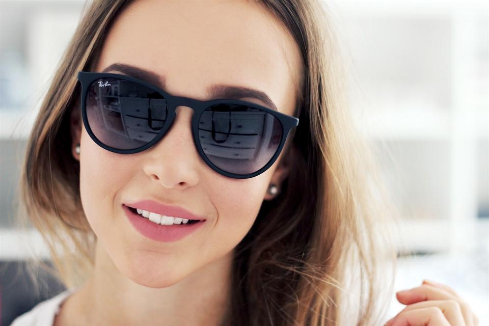 04151ff94a657 Ray-Ban Black with Gray Lens Erika Rb 4171