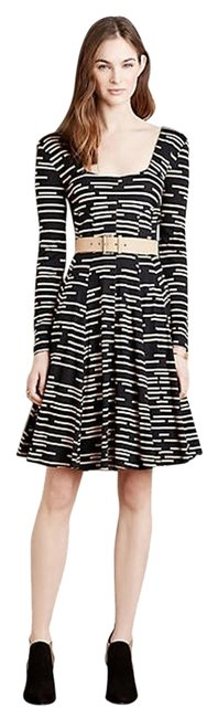 Anthropologie short dress _ Hd In Paris Black Striped on Tradesy Image 0