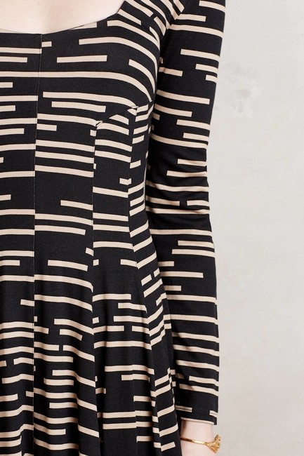 Anthropologie short dress _ Hd In Paris Black Striped on Tradesy Image 2