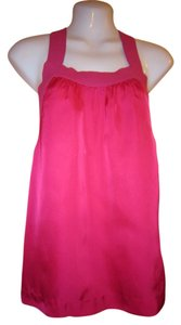 Theory Pink Halter Top
