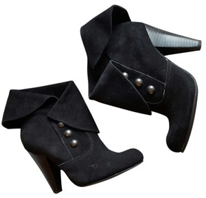 MIA Heels Date Night Night Out Cute Black Boots