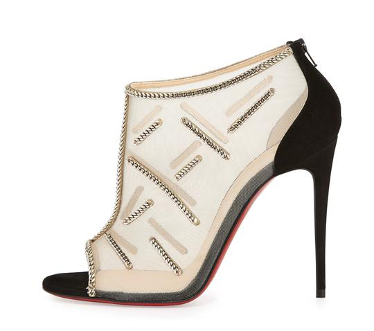 Christian Louboutin Signifiamma Chain Mesh 39 black Pumps