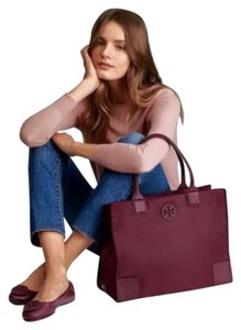 Tory Burch Packable Ella Nylon Tote in SHIRAZ