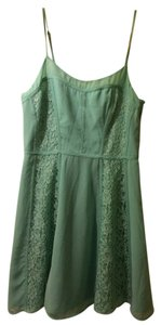 LC Lauren Conrad short dress Mint Lace Sweet Sea Foam on Tradesy