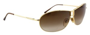 BVLGARI BVLGARI Gold Aviator Sunglasses 553