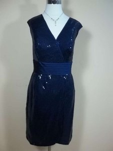 Alfred Angelo Navy 7238 Dress