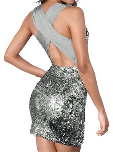 made2envy Sequin Homecoming Club Fashion Trendy Dress