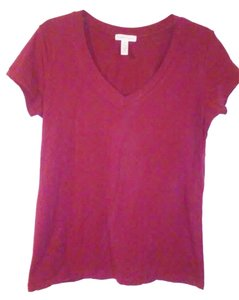 Ambiance Apparel T Shirt Maroon