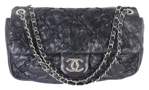 Chanel Classic Leather Chain Shoulder Bag